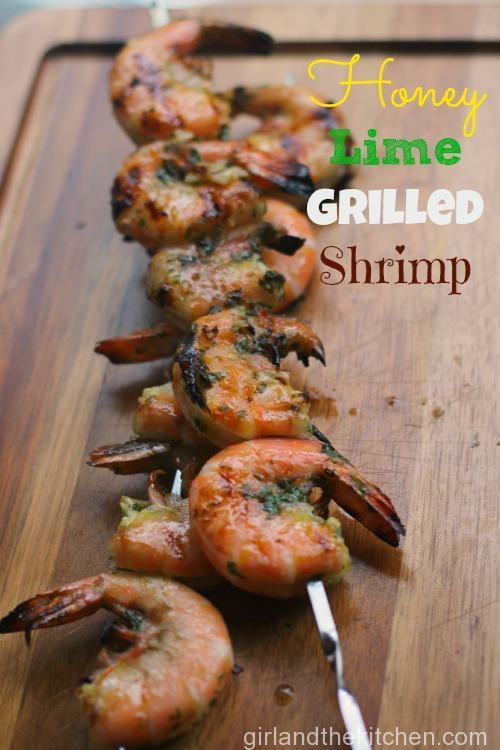 Honey Lime Grilled Shrimp