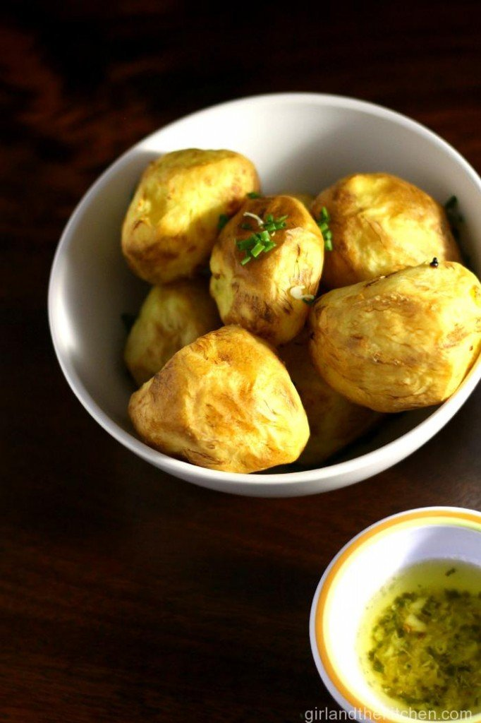 Golden-Potatoes-with-Garlic-Chive-Butter-4